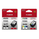 Canon PG645XL + CL646XL, High Yield Black + Colour Ink Tank Combo Pack to suit MG2560