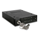ICY DOCK Full Metal 2 Bay 2.5 SATA/SAS HDD & SSD Hot Swap Mobile Rack Enclosure for 3.5 Drive Bay - ToughArmor MB992SK-B