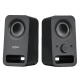 Logitech 980-000862 Z150 Multimedia Speakers, Midnight Black