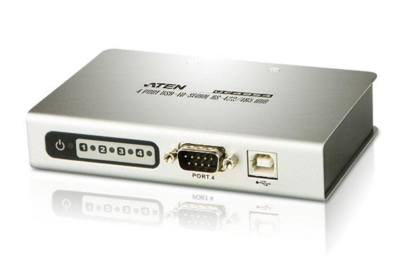 ATEN-UC4854-4-Port-USB-to-RS-485-422-Hub